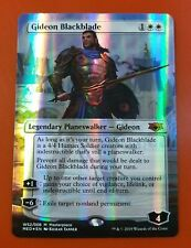 1x Gideon Blackblade | FOIL | War of the Spark Masterpieces | MTG Magic