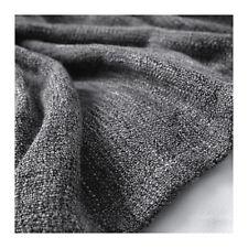 Throw Rug Knee Blanket Bed Couch Sofa GURLI BLACK GREY  IKEA New