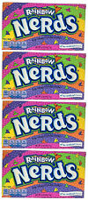 4x Formally Wonka Rainbow Nerds Crunchy Candy Large Box 141.7g American Sweets