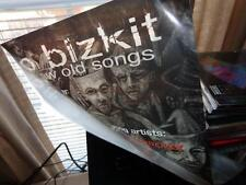 Limp Bizkit *Three 2001 New Old Songs Promotional Cellophane Window Clings!