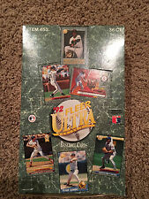 1992 FLEER ULTRA BASEBALL SERIES 1 FACTORY SEALED WAX BOX