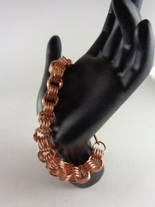 Coil Bracelet in Copper