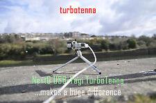 NextG TURBOTENNA 007GTI Yagi Direccional Antena WiFi Kit con trípode y cable USB