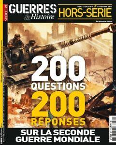 Guerres et Histoire Hors-série n°8 200 Q/R Seconde Guerre mondiale État neuf