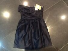NWT Juicy Couture New & Gen. Ladies Blue Satin Evening Dress Size 4 US(UK 8/10)