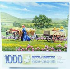 Bits And Pieces 1000 Piece Jigsaw Puzzle ROLLING ALONG By John Sloane