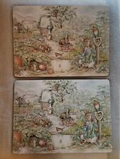 Pottery Barn Peter Rabbit Easter Placemats Set Of 2