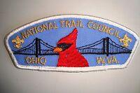 OA NATIONAL TRAIL COUNCIL SHOULDER PATCH CSP GMY OHIO CARDINAL SERVICE FLAP