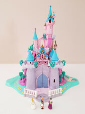 POLLY POCKET Cendrillon 1995 The enchanted Cinderella castle vintage lumineux