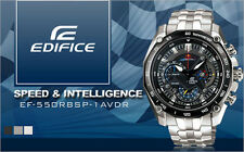 neu HERRENUHR watch-CASIO EDIFICE RED BULL EF-550RBSP-1AV