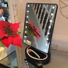 16 LUCE LED illuminato Specchio Make Up Cosmetici Specchio bagno rasatura VANITY