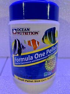 Ocean Nutrition Formula One Pellets SMALL 200 grams (7 oz) Fish Food
