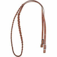 Martin Saddlery Martin Harness Leather 3-Plait Barrel Rein