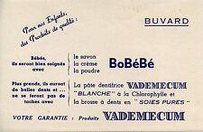 BUVARD PUBLICITAIRE /  SAVON POUDRE CREME / BOBEBE