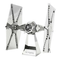 Star Wars Classic – TIE Fighter Metal Earth 3D Laser Cut Metal Puzzle by Fasc...