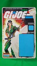 New listing 1985 Gi Joe Lady Jaye V1 Full Uncut Cardback File Card 34 Back Triple Win