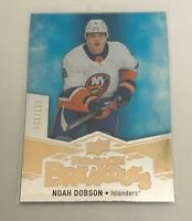 2018-20 Upper Deck Series 2 ROOKIE BREAKOUTS NOAH DOBSON #/100