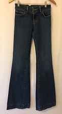 J Brand Dark Wash Jeans Size 28 Flared Lovestory