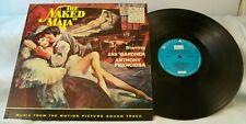 THE NAKED MAJA 1956 LP SOUND TRACK UAS 5031 AVA GARDNER ANTHONY FRANCIOSA VG+