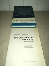 Instructor's Manual for Solid State Physics 2nd ed. + textbook Blakemore