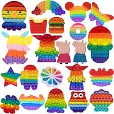 Zappeln Spielzeug Sensory Popit Bubble Antistress ADHS Stressabbau Spielzeug Set