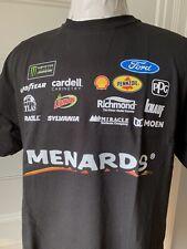 Paul Menard T Shirt NASCAR Racing # 27 Menards Car Size XL