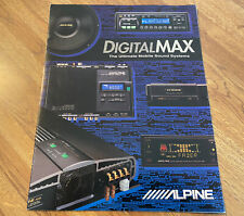 Alpine Full Size DIGITAL MAX Product Guide / 7618 3900 5959 3362 3681 3558 6015