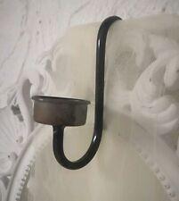 Altfranzösischer Candlestick Holder Light Shabby Vintage Metal
