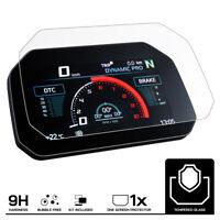 BMW F900XR Connectivity (2020+) Verre Trempé Protecteur d'écran: Anti Reflet