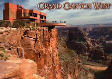 Grand Canyon West Skywalk Arizona, Glass Walkway, Colorado River, AZ -- Postcard