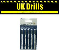 5 JIGSAW BLADES - ALL MAKES & SIZES FOR WOOD & STEEL BAYONET & U SHAPED