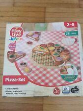 *Playtive Holzspielzeug Pizza Set Montessori Küche Kinder 2-5 Jahren TOP*