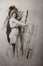Félicien Rops 1897 Monographie collective 1/50 papier Chine bibliophilie rare