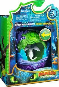 How to train your Dragon 3 The Hidden World LIGHTFURY Play Set **NEW**