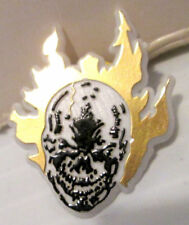 MARVEL GHOST RIDER FLAMING SKULL COMIC BOOK STORE PROMO PINBACK BUTTON PIN 1993