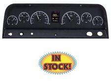 Dakota Digital HDX-64C-PU-K - 1964-66 Chevy Truck HDX Gauges - Black Face