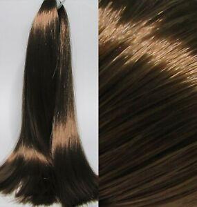 CLASSIC BRUNETTE Saran Doll Hair for Custom Reroots