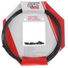 Clarks CNC ZERO-G Lightweight MTB + Road Bike GEAR Cable Kit - BLACK