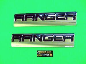 2019 onwards Ford Ranger XLT badge Genuine NEW SHAPE