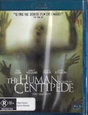 THE HUMAN CENTIPEDE -  BLU-RAY NEW & SEALED - FREE LOCAL POST