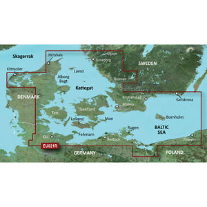 Garmin Bluechart G2 - HXEU021R - Denmark East  and  Sweden Southeast-MicroSD/SD