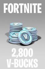 Fortnite - 2,800 V-eBay Bucks | PC/Android/PS4/XBOX/iOS | leer descripción abajo