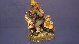 "1999 Boyds Bears & Friends Folkstone ""Sam, Libby and Ellis...Fife & Drum"" #2886"