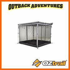 OZTRAIL TOURING RV SHADE AWNING MESH ROOM - GREY 2.4 x 2m