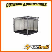 OZTRAIL TOURING RV SHADE AWNING MESH ROOM - GREY 2.4 x 2m