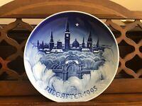The Towers of Copenhagen, 1995 Bing & Grondahl Christmas plate