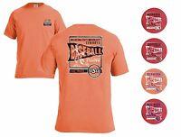 NCAA Vintage Baseball Comfort Color Wash T-shirt Men's M L XL 2X