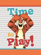 Disney Winnie Pooh Tigger Plüschdecke Babydecke Kuscheldecke 75x100 cm