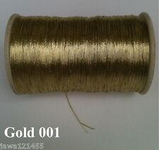 Embroidery Thread Metallic Thread Handwork Artwork jewelry Crochet Sewing Craft