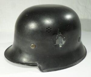 antiker STAHLHELM wohl Feuerwehr Wehrmacht ? Beuttenmüller Bretten Thale Stahl